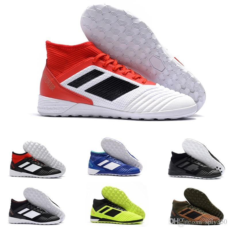 411a7b580ac7 2019 2019 Arrived Predator Tango 18.3 TF Mens Flat Trainer Soccer Shoes  Indoor Football Boots Athletics Discount Sneakers Size 39 45 From Sply350