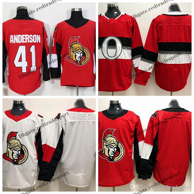 best sneakers daa22 c598e 2019 Ottawa Senators 100th Classic 41 Craig Anderson Hockey Jerseys Cheap  Home Red Craig Anderson Stitched Shirts S-XXXL