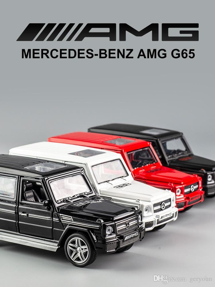 Satın Al Mercedes Benz G65 Amg Spor Araba Alaşım Araba Modeli çocuk