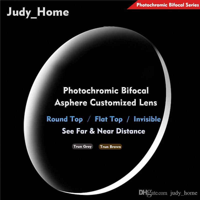 31778e2cc9 2019 Photochromic Bifocal Prescription Lens Resin AR Coating Myopia  Hyperopia Sunglasses Resin Lens Customized Lens Far Near SPH CYL JH G100  From Judy home