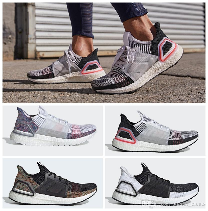 low priced 0acf3 a0721 2019 Ultra Boosts 5.0 19 B37704 Mens Laser Red Running Shoes Oreo  ultraboost Uncaged Women Sneakers Trainers Designer Shoes with Box