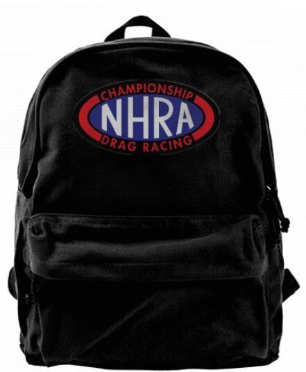 059fa8ddc6b2 NHRA National Drag Racing Fashion Canvas Designer Backpack For Men & Women  Teens College Travel Daypack Leisure Bag Black Hydration Backpack Womens ...