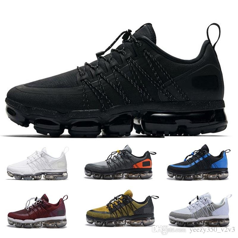 5c2e8ace8 Compre Nike Air Max Vapormax 2019 New Men Designer Utility Running Shoes  Medium Olive Burgundy Crush Hombres Zapatillas De Deporte Fashion Run  UTILITY ...