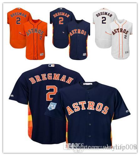 73fb94be96c Men's Astros 2 Alex Bregman Majestic Fashion Navy Official Cool Base Replica  Player Houston Women Kids Jersey Baseball Jersey Online with $27.21/Piece  on ...