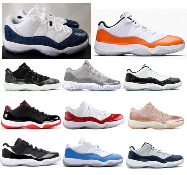 5e4405ff4aff New 11 Low Snakeskin Orange Trance Concord Cool Grey Barons Basketball Shoes  Men Women 11s Georgetown Infrared Rose Gold Sneakers With Box Basketball  Shoes ...