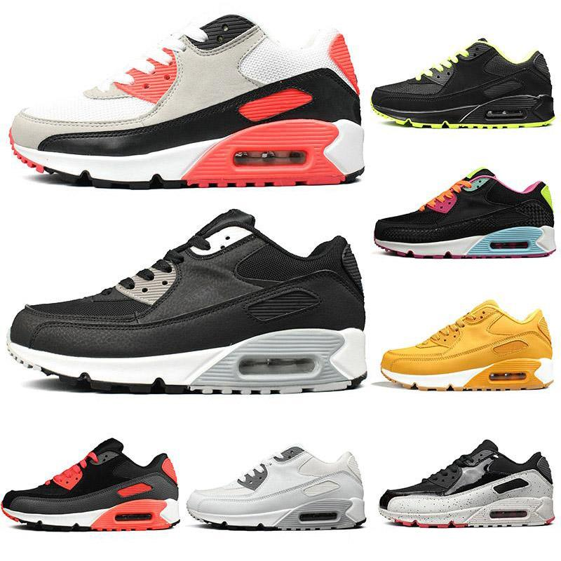 2019 Cheap Sneakers Classic 90 Men Running Shoes Wholesale Sport 90s Mens Womens Trainers fashion luxury mens women designer sandals shoes