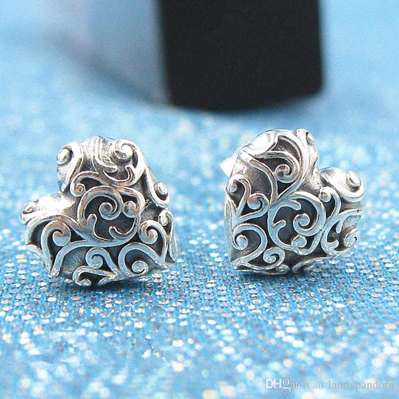 6adef0ed4 2018 New 100% S925 Sterling Silver European Pandora Style Jewelry ...