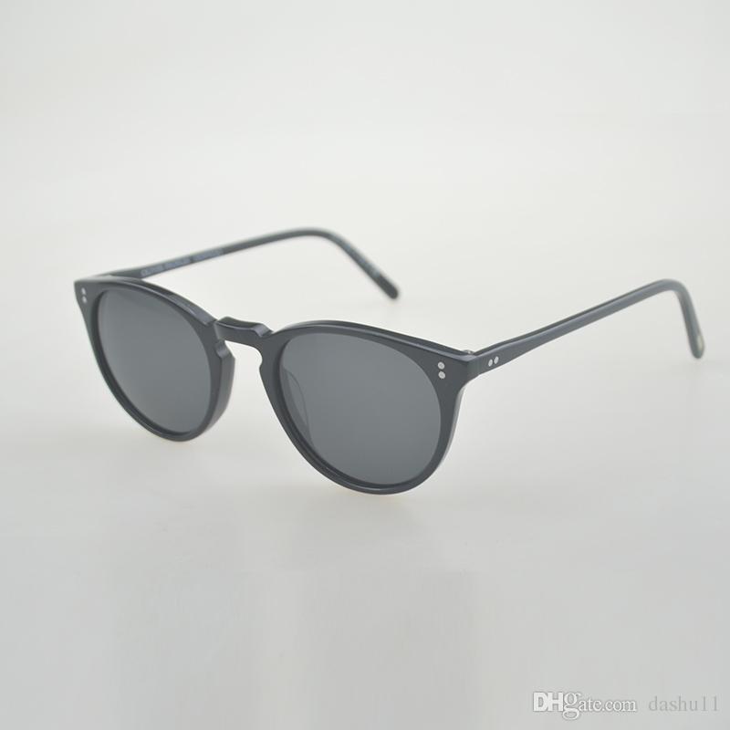 d1b96ce3b47 Retro Sunglasses 2018 O Malley NYC Round Sunglass Men Women OV5183 Polarized  Sun Glass Zonnebril Mannen Oculos De Sol Masculino Sunglasses Sale Kids ...