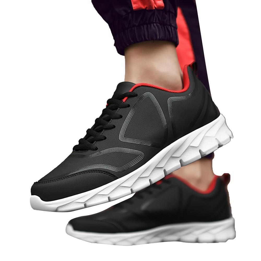 c04b1e8888707e Acheter Perimedes Mode Hommes Hiver Chaud Running Hommes Baskets Hiver  Chaussures De Sport En Cuir Casual Chaussures De Sport Chaussures De Course  # G25 De ...