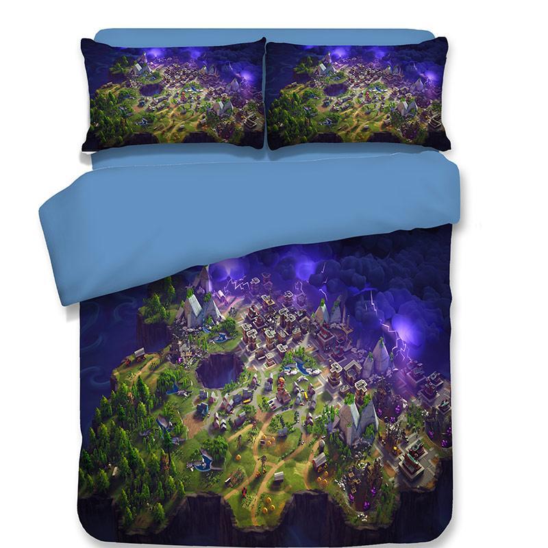8430320f31d Cartoon Anime Duvet Cover Set Fashion 3D Blue Boys Bedding Sets US UK AU  Twin Queen King Size Bedclothes Kids Adult Home Textile Designer Bedding  Sets ...