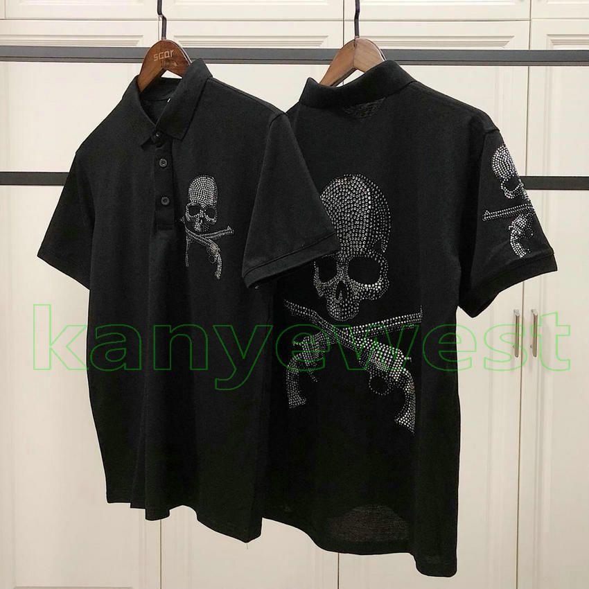 3e4533ceff2e 2019 Sommer neue Mastermind Japan MMJ tee herren Hot bohrer schädeldruck  t-shirt mode Baumwolle POLO brief drucken t-shirts designer Casual T-stück