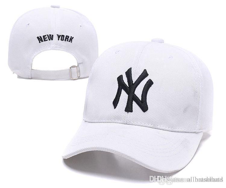 166d0d6ce36 2018 New Women NYC Baseball Caps Hats NY Snapback Caps Cool Hip Hop Hats  Cotton Adjustable Brand Caps Summer Sun Shade Hats Custom Hats Mens Hats  From ...