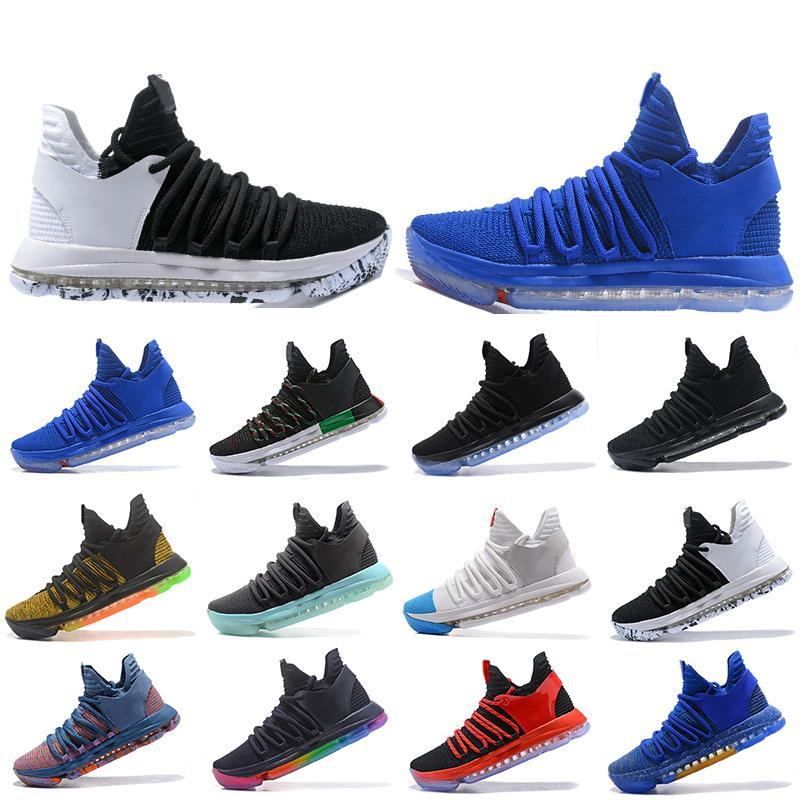 New Classic Zoom KD 10 Mens Basketball Shoes Be True BHM celebration All Star Fruit pulp Igloo Designer Trainers Sports Sneakers US 7-12