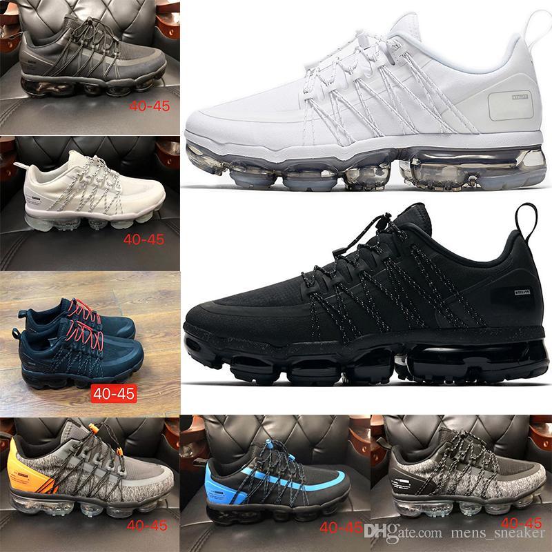 72e8f3266ed65 2019 Vpm Run Utility Black Reflect Silver Men Running Shoes Triple ...