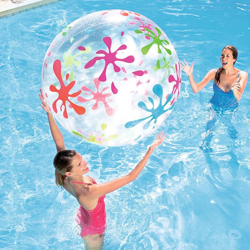 Beach Ball Kids Adult Swimming Ball Sea Beach Inflatable Water Pool ...