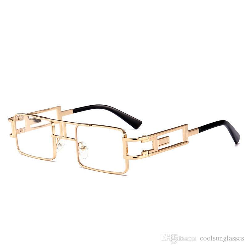 nuovo concetto 9a196 837a4 occhiali chiari occhiali chiari occhiali quadrati occhiali da sole donne  progettista di marca occhiali da sole moda vacanza spiaggia festa occhiali  da ...