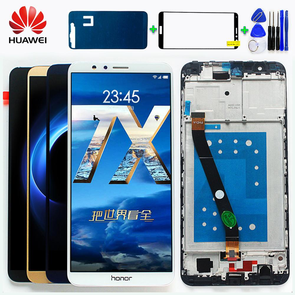 Original LCD Display For Huawei Honor 7X BND-L21 BND-L22 BND-L24 Mate SE  Touch Screen Digitizer Assembly Frame With Free Tools