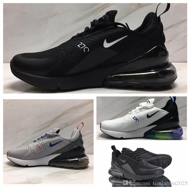 2019 nike air max 270 off white vapormax Flyknit Utility Future Triplo Preto branco University Red South Beach Grape womens sports designer sneaker formadores T25
