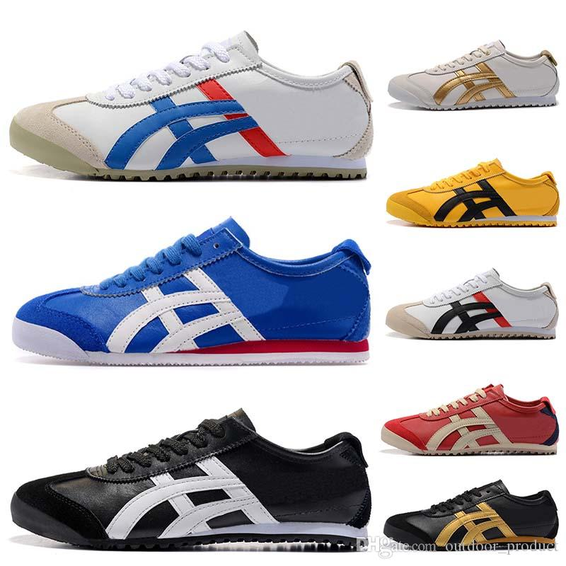 huge discount a43a6 c7845 ASICES Fashion Brand Onitsuka Tiger Running Shoes Men Women Athletic  Outdoor Boots sports mens Trainers sneakers designer shoe Size 36-44