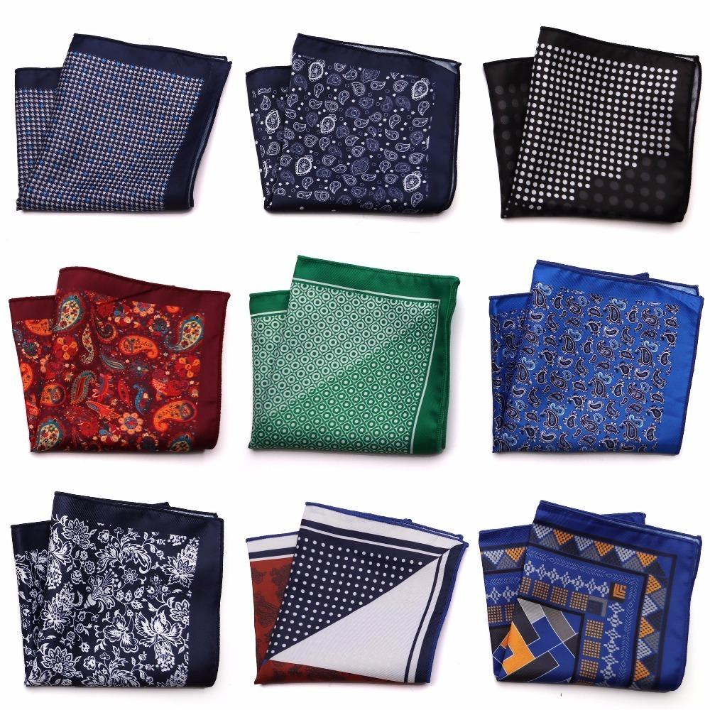 5d20c85a8f255 Tailor Smith New Designer Pocket Square Printed Microfiber Checked ...