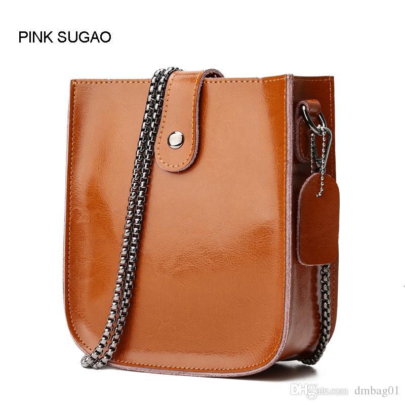 120af98bbe39 Pink Sugao Designer Women Shoulder Bags Luxury Genuine Leather Crossbody Bags  Fashion Handbag Chain Bag High Quality Factory Wholesales Bag Cheap  Designer ...