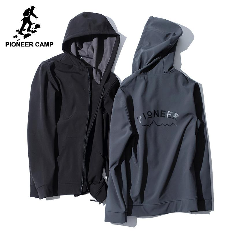 96358f773e4 Pioneer Camp Soft Shell Jacket Men Brand-clothing Waterproof Fleece ...