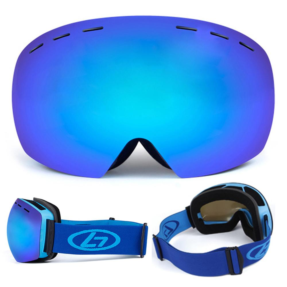 New Professional Anti-Fog UV Protection OTG Goggles Climbing Skiing Motorcycling Men Women Adult Eyewear Skiing Goggles