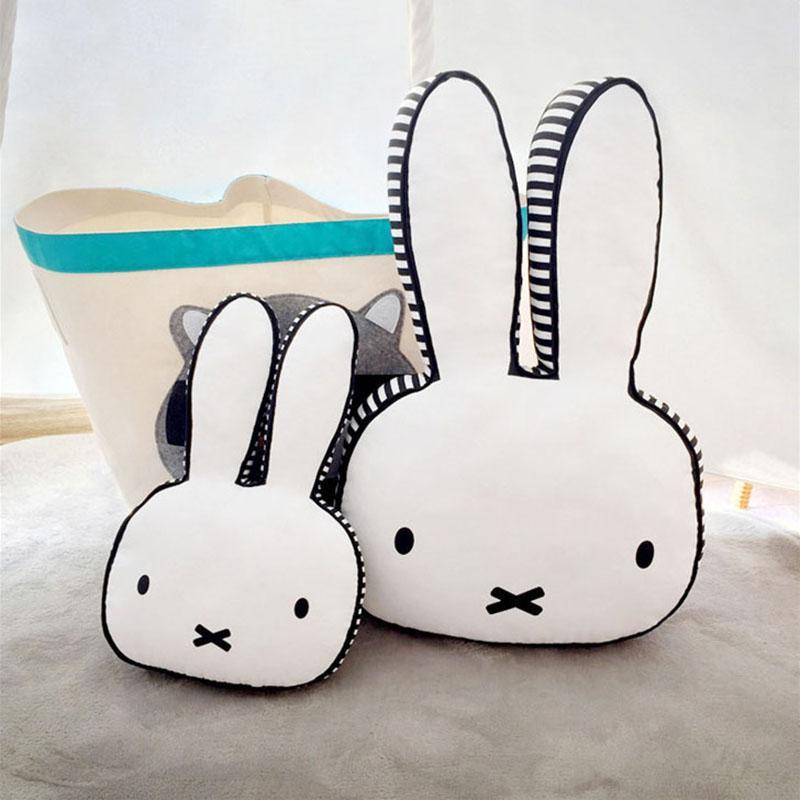 Satın Al Büyük Bunny Tavşan Kafası Bebek Yastık Yenidoğan çocuk