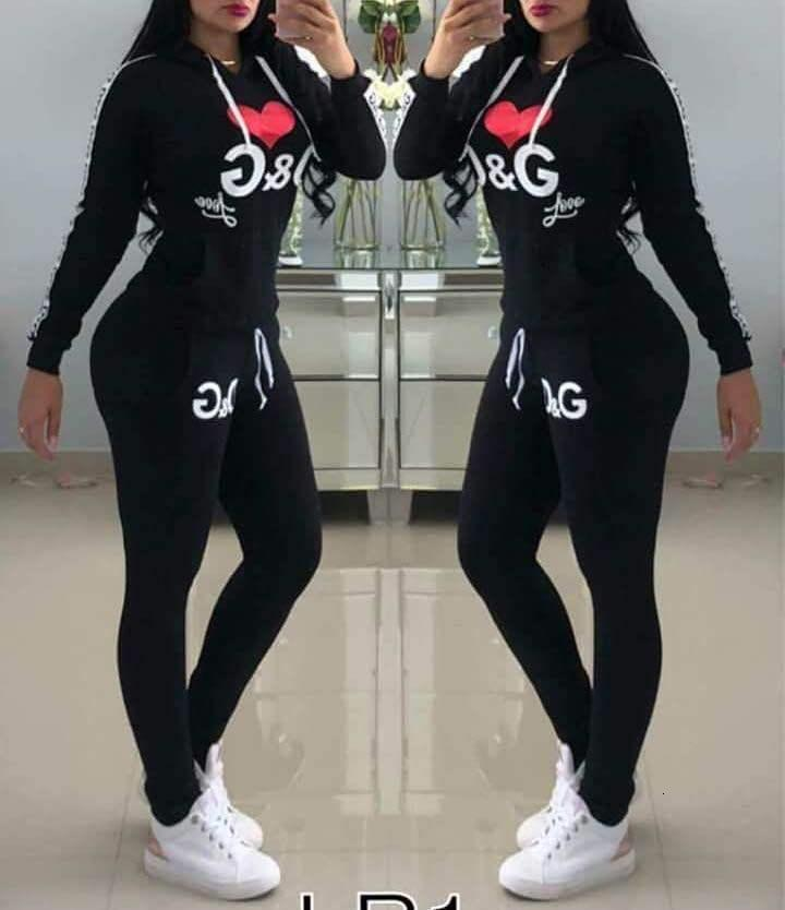 Women Designer Tracksuit 2 Piece Pants Set Long Sleeve T Shirt Outfits Tights Leggings Sportswear Brand Gym Suits Women Clothing Clothes