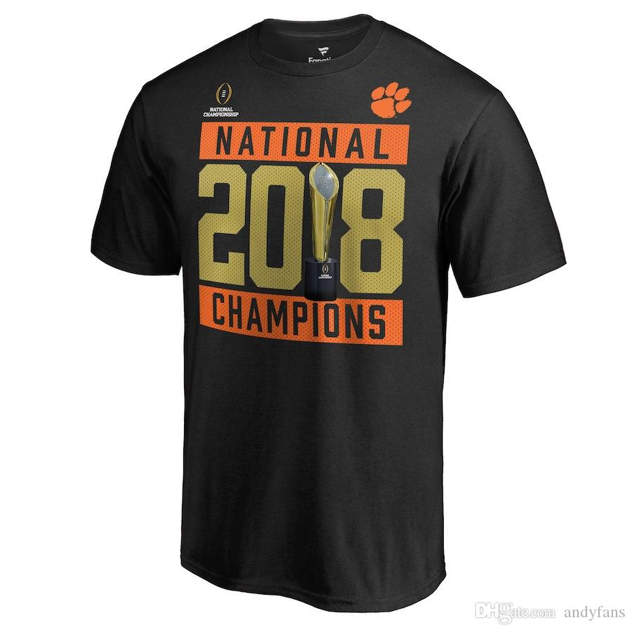 36714f66196 Clemson Tigers T Shirt American College Football Playoff 2018 National  Champions Hard Count Schedule Shirt Cotton Bowl Champions Shirt Coolest  Shirt Tees T ...