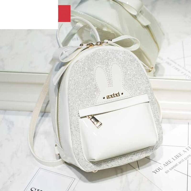 2019 New Cute Backpack For Teen Kids Mini Back Pack High Quality Pu Leather  Women Backpack Teenage Girl Sequins Travel Rucksack Book Bags Herschel  Backpacks ... 3f028f70e021a