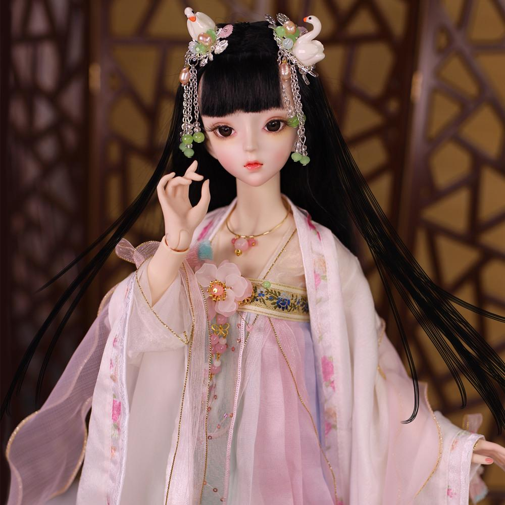 Puppet Wig Luodoll Bjd Sd Girl Bory Bjd Doll Free Shipping For Little Girls Dolls Dolls & Stuffed Toys free Eyes