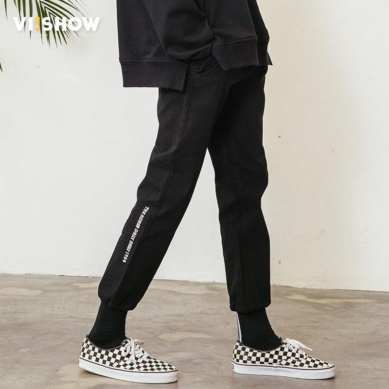 Nouvelles Arrivées b6bab 1e036 VIISHOW New Arrival Sweatpants Men Brand Clothing Letter Printed Jogger  Pants Men Casual Quality Trousers Male KC1193181 C19011501