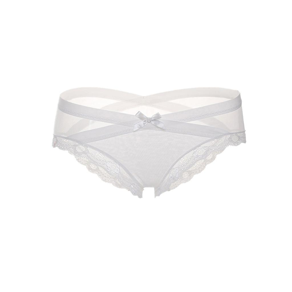 147c4f8d5ef 2019 Underwear Women Sexy Women Lace Flowers Low Waist Underwear Panties G  String Lingerie Thongs Lace Soft Briefs Lingerie Fashion From Bunnier, ...