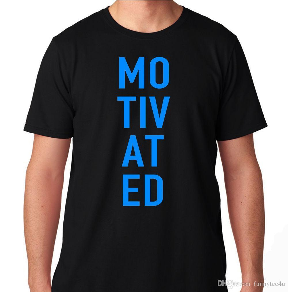 680dd91f25b Motivated Gym Fitness Workout Yoga Fit Motivation Train Lift Run Mma T Shirt  Tee Shirt Men S Crazy Custom Short Sleeve Plus Size Party Personalised T  Shirt ...