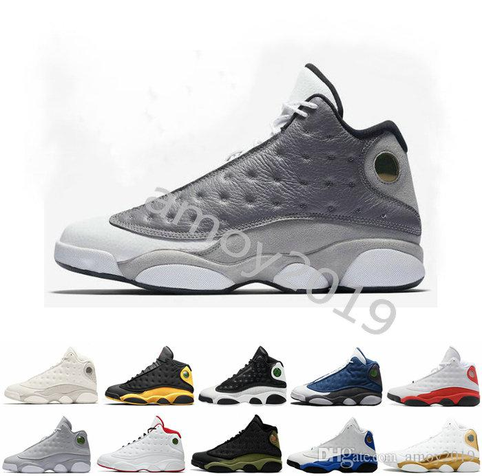 newest b352b f42d6 2019 Bred Chicago Flint Atmosphere Grey 13 Men Basketball Shoes 13s He Got  Game Retros Retro Melo DMP Hyper Royal Sports Sneakers Size 13 East Bay  Shoes ...