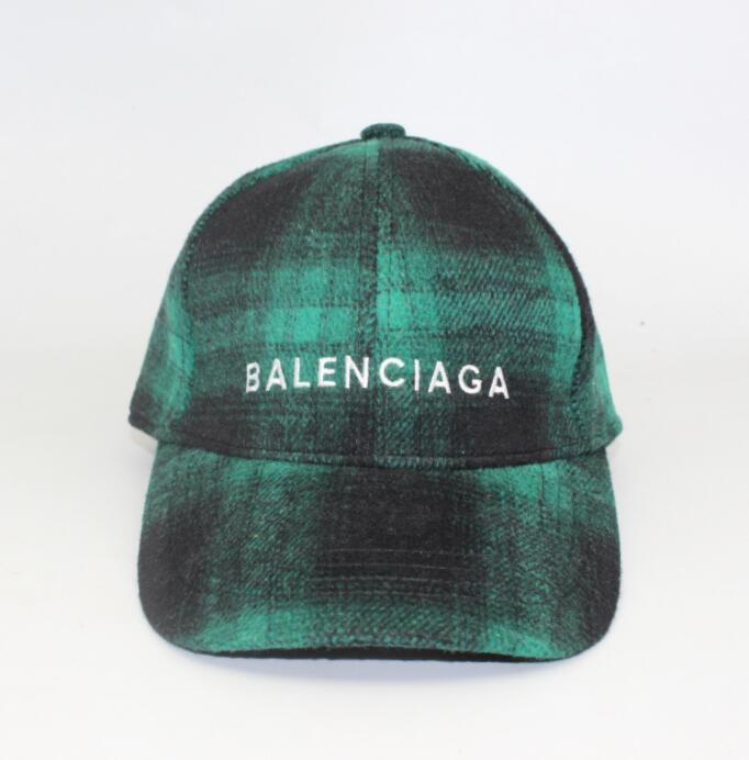 25d48782 Casual Veteme Autumn/Winter Woolen Lattice Baseball Cap Korean Embroidery  Letters Curved Hats Men And Women Tide Brand Cap Hats For Sale Neweracap  From ...