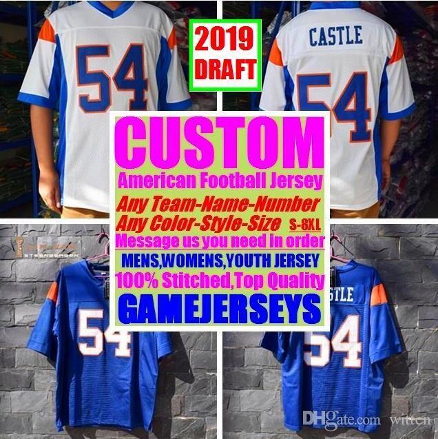 newest d0563 73c7a All Stitched Custom american football jerseys Arizona Atlanta college  authentic cheap baseball basketball hockey jersey 4xl 6xl 8xl draft