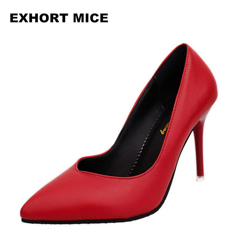 32233cec02d3 New 2019 Women Pumps Fashion Pointed Toe Patent Leather Stiletto High Heels  Spring Autumn Wedding Shoes Woman Zapatos Mujer  1 Dansko Shoes Tennis Shoes  ...