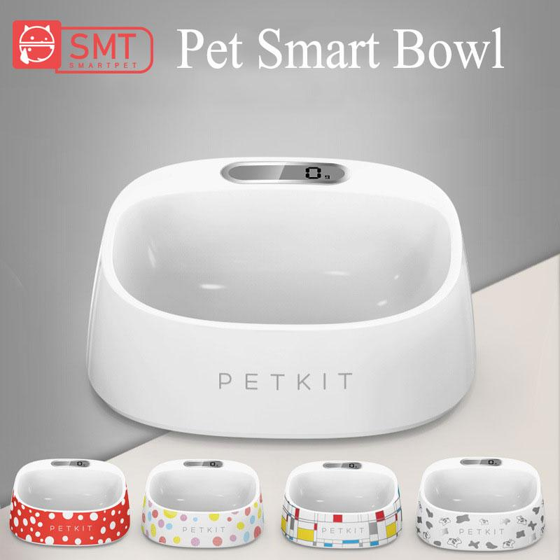 SMARTPET Smart Pet Cat Weighing Bowl Accurate Weighing Eating Drinking Bowl Scientific Feeding Safe Anti-microbial Pet Product