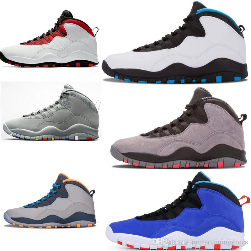 20728b22b013 2019 Mens Basketball Shoes 10 Tinker Cement 10s Mens Shoes Bobcats Grey  Chicage Cool Grey Iam Back Powder Blue Trainers Sports Sneaker Size 7 13  From ...