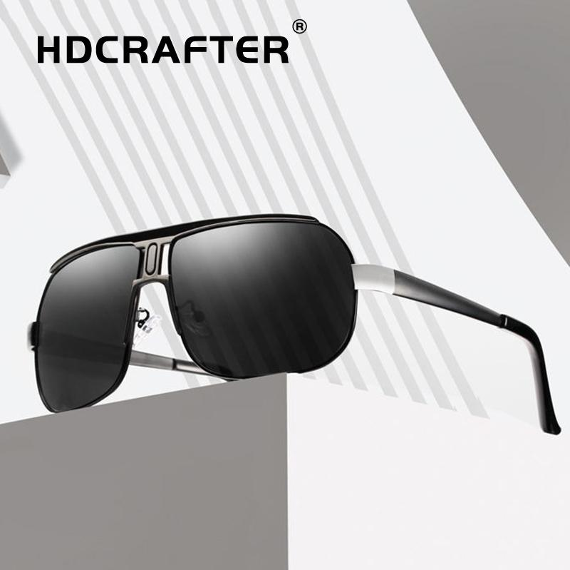 b2cf2658df20c Driving Sunglasses Men Pilot Polarized 2019 Uv400 High Quality ...