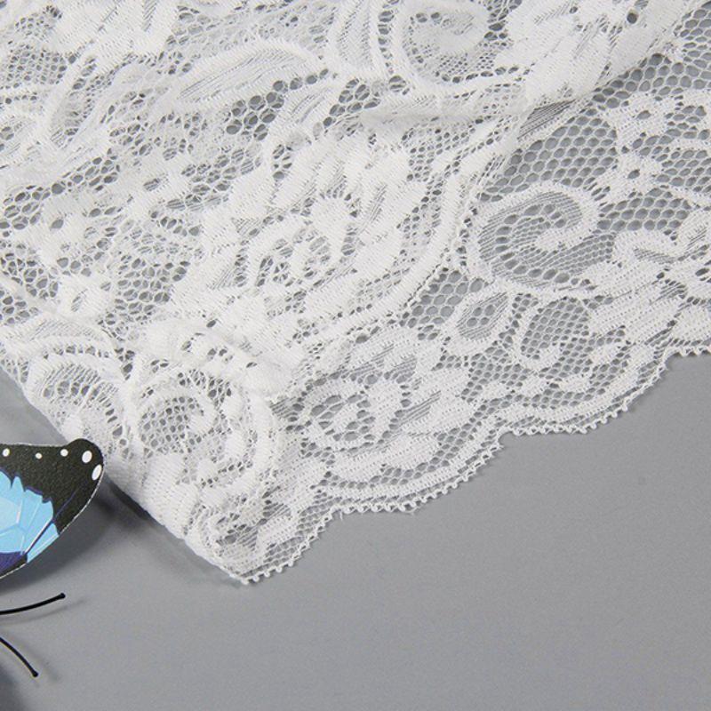 2018 Sexy Lingerie Bralette Set Women Sexy Corset Hollow Lace See-through Underwear Cami Lingerie Bra Set Sex Clothes