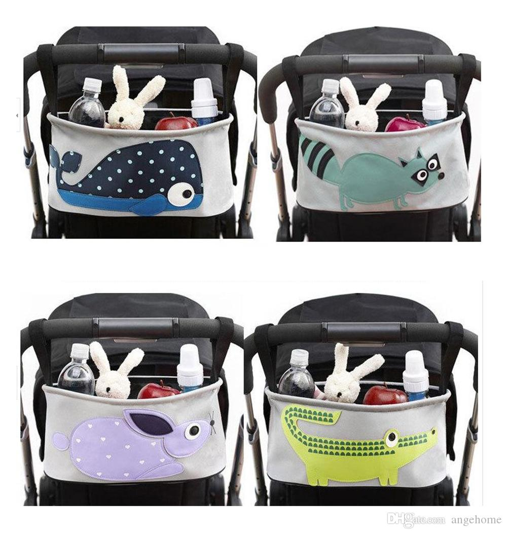 dcfb321b400e 2019 Cute Baby Stroller Bag Organizer Multifunctional Baby Carriage ...