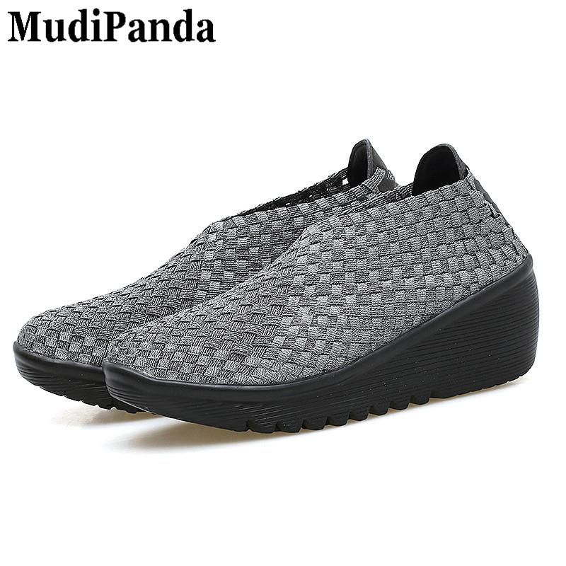 be58a10ca Dress Shoes Mudipanda Woven Wedges For Women Summer Breathable New Women S  Soft Ladies Black Women Platform Sandals Lady Woven Hiking Shoes Sperry  Shoes ...
