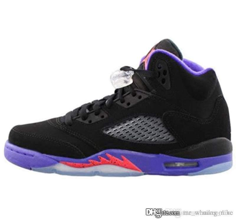 innovative design b3408 6e247 Cheap Mens Jumpman 5 basketball shoes 5s Raptors Bel Air Fire Red Gatorade  Hornets Infrared 23 Prostars White Cement sneakers boots for sale