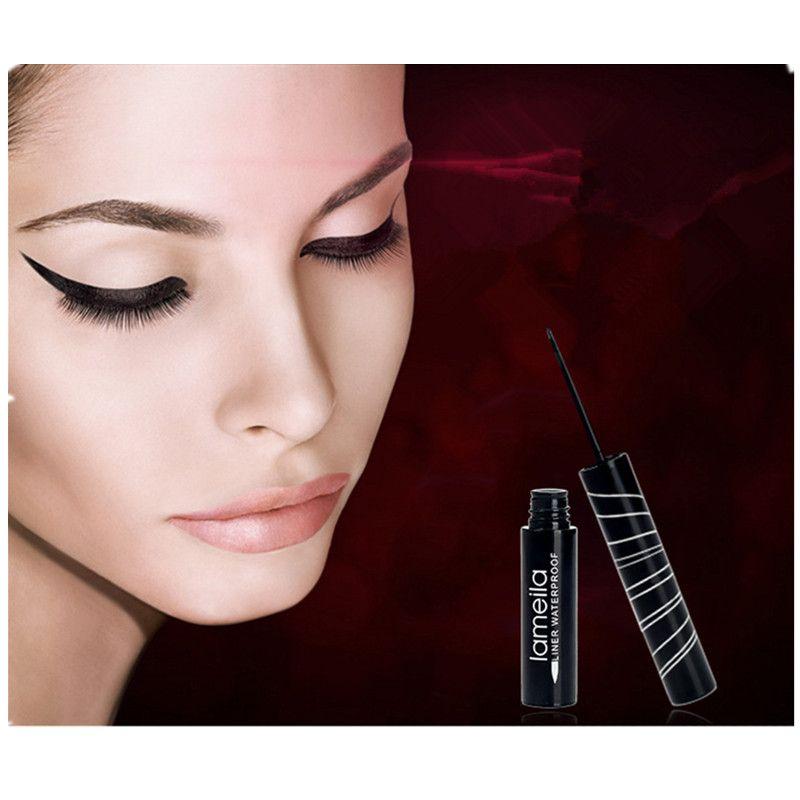 New Waterproof Eyeliner Pencil Long-lasting Black Eye Liner Pen Thin Lines Quick-dry Makeup Cosmetic Tool