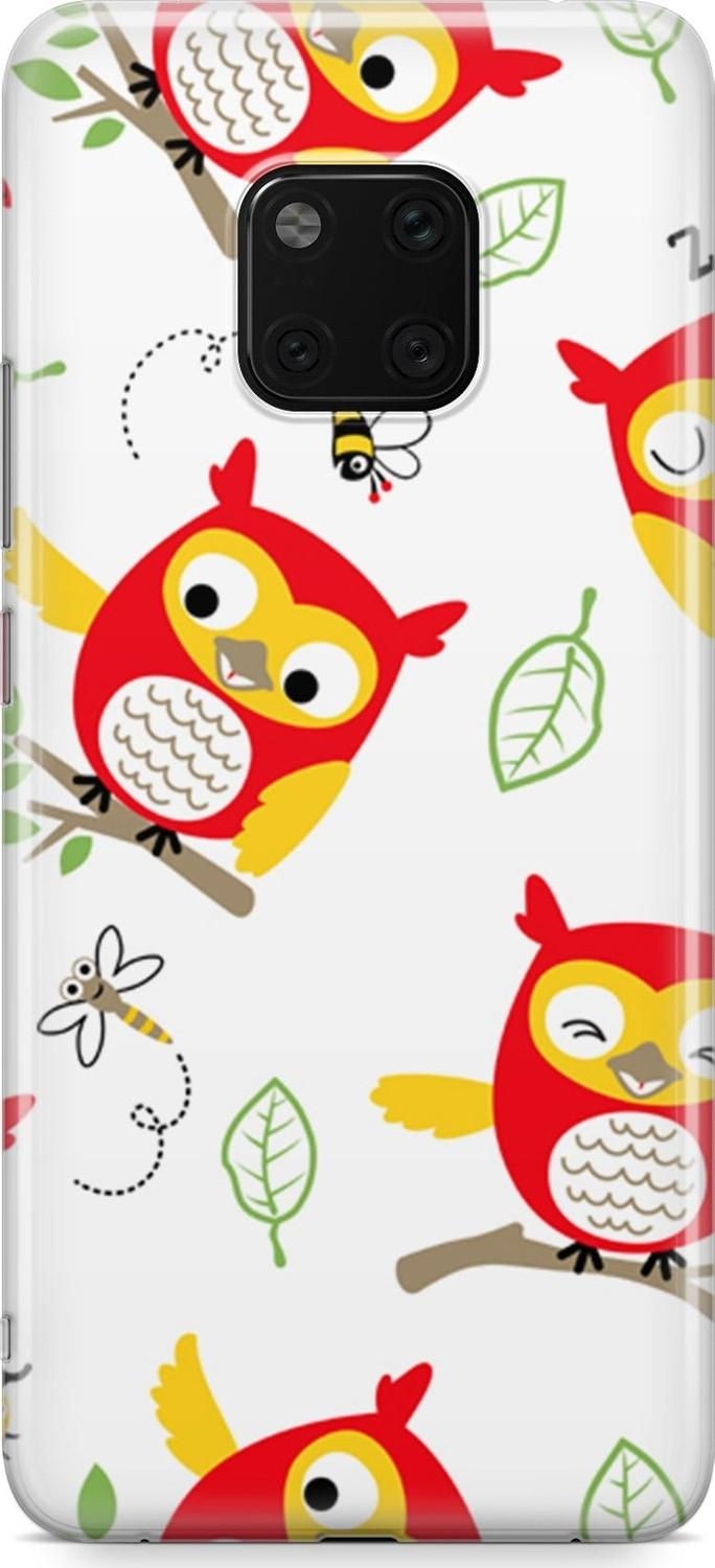 Melefoni Melefo the Huawei Mate 20 Pro Series Elisa Owl Pattern Case Ship from Turkey HB-003734337