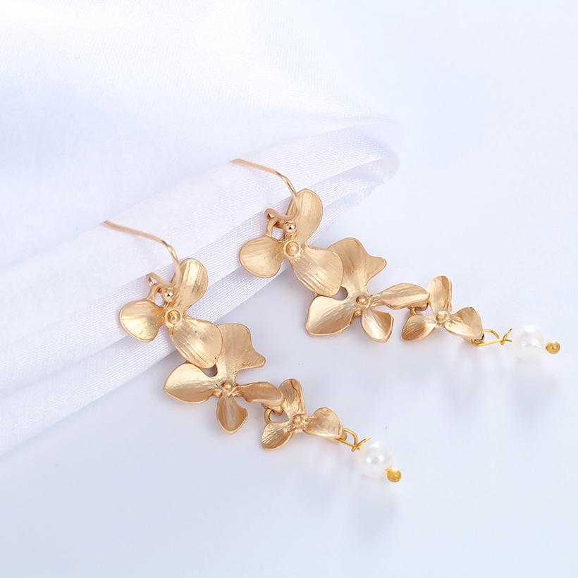 Cute Orchid Lotus Earrings DNA Kiwi Choker Necklaces For Women Style Necklace&Pendants High Quanlity Bridal Jewelry Set Jewelry
