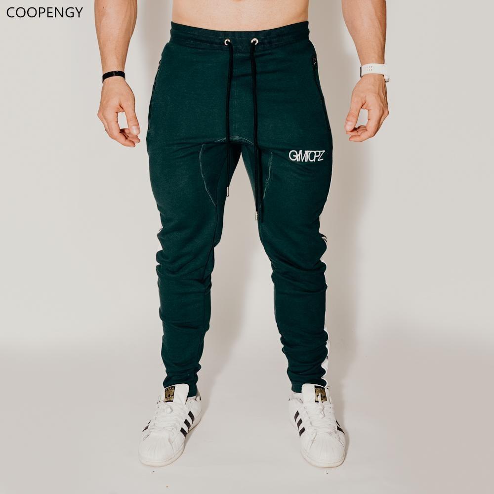 b457792f67d6 Acquista New Autunno Jogger Pantaloni Uomo Cotone Patchwork Pantaloni  Sportivi Palestre Fitness Allenamento Pantaloni Uomo Casual Moda  Abbigliamento ...